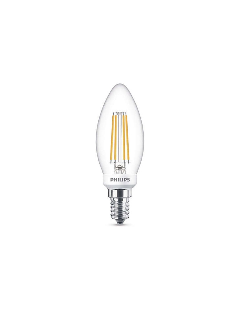 Bombilla LED Philips Vela LED 5 W. E14 REGULABLE tienda de iluminación Robert La Rosa