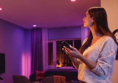 ¿Qué ofrece la iluminación inteligente de Philips?