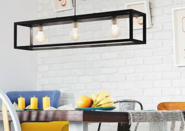 ¿Cuál debería de ser la correcta iluminación para el comedor?